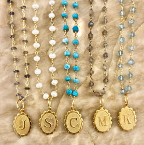 Personalized layering necklaces