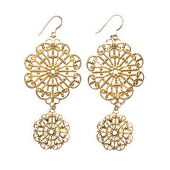 Filigree Lollipop Drop Earrings