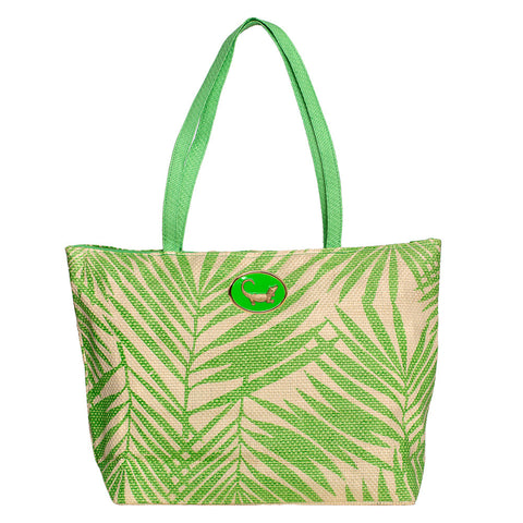 Palm Bag - Lime Green