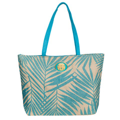 Palm Bag - Turquoise