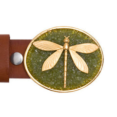 Dragonfly Peridot Buckle