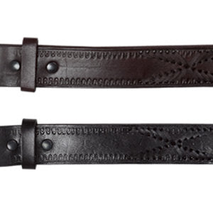X- Leather Laced Belt