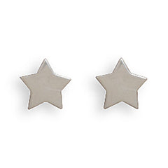 Stud Stainless Steel Star Earrings