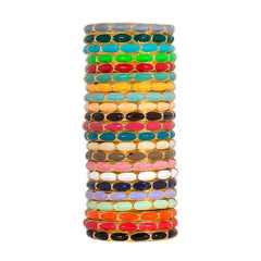 Dotti Enamel Bangle Bracelet