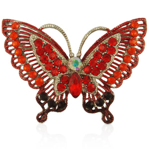 BB2278 BUTTERFLY BROOCH