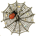 BB2672 SPIDER WEB BROOCH