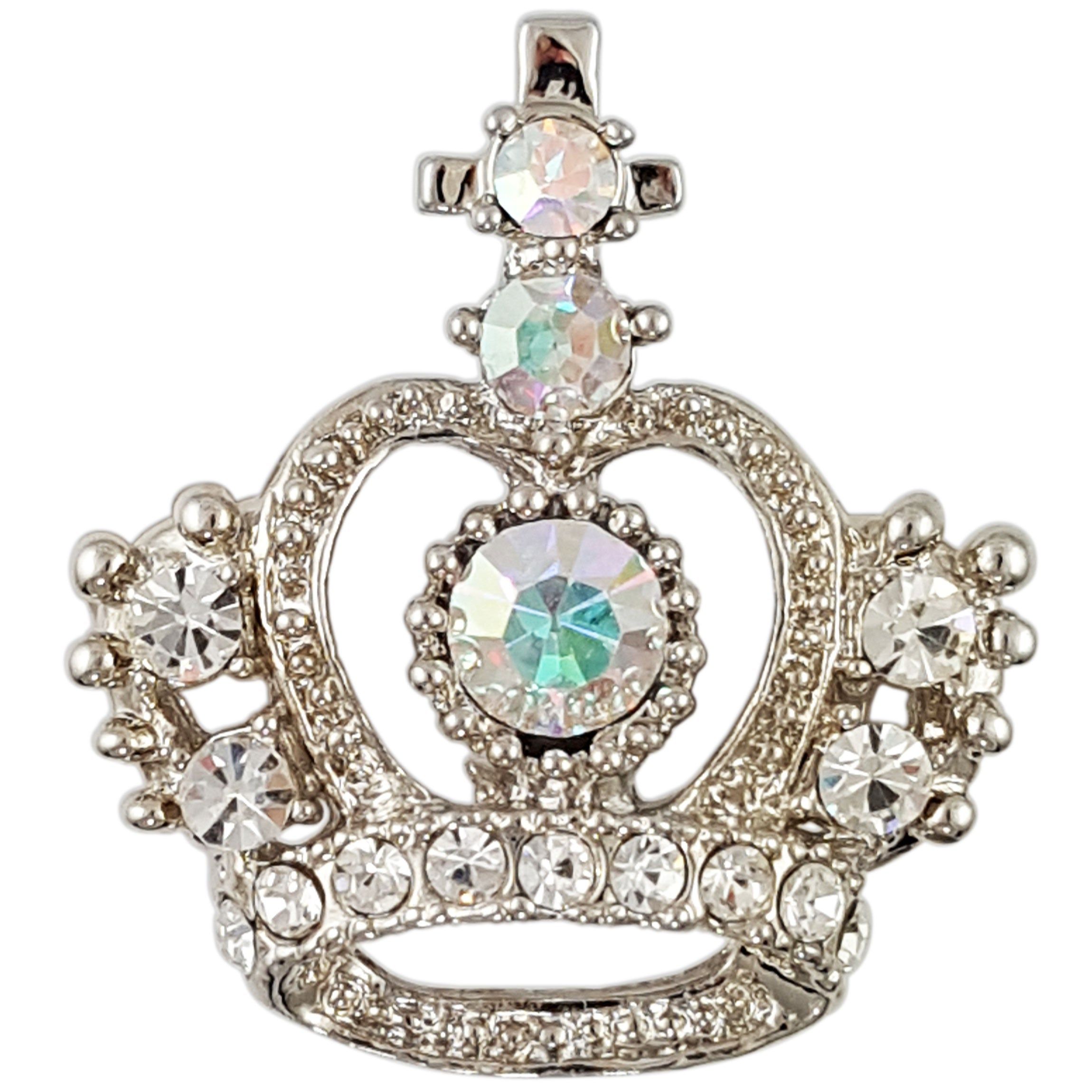 BB909 CROWN BROOCH