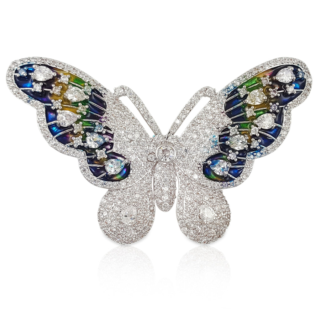 TB011 BUTTERFLY BROOCH