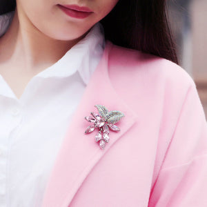 TB014 GRAPE BROOCH