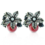 TB026 CHRISTMAS MISTLETOE EARRINGS