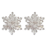 TE006 SNOWFLAKE EARRINGS