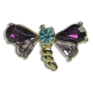 GB2242 DRAGONFLY BROOCH