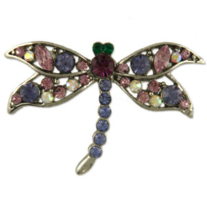 GB2374 DRAGONFLY BROOCH
