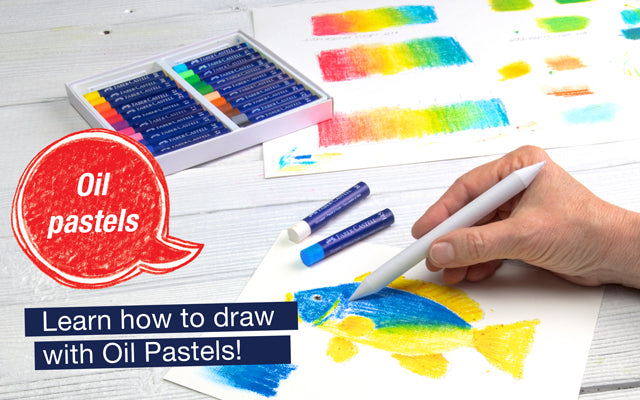Oil Pastels. Learn how to draw with Oil Pastels!