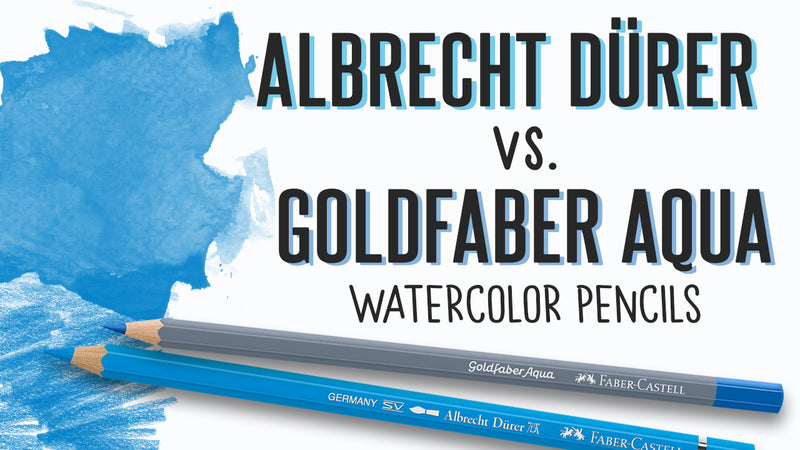 Albrecht Durer and Goldfaber Aqua Watercolor Pencils