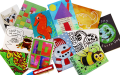 Artist Trading Cards Art Lesson for Kids