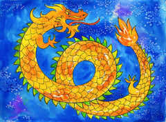 A to Z Mysteries: Chinese New Year Art Lesson for Kids