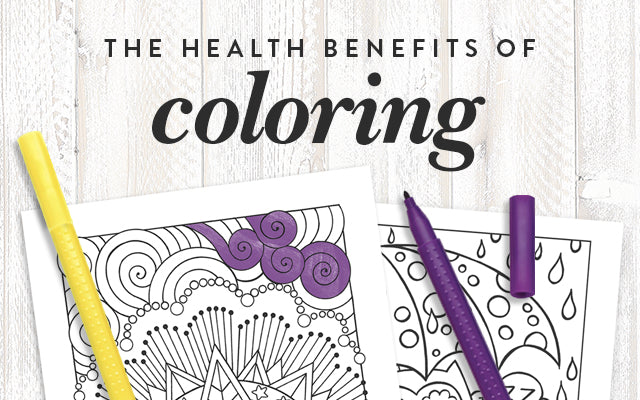 The Health Benefits of Coloring