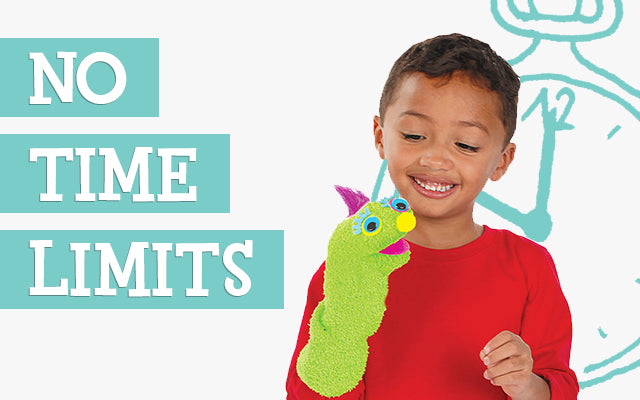 Why are Time Limits on Kids' Craft Activity Kits Avoided by Creativity for Kids®  Development Team?