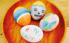 Egg Decorating with Colored Pencils