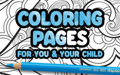 Coloring Pages for You and Your Child