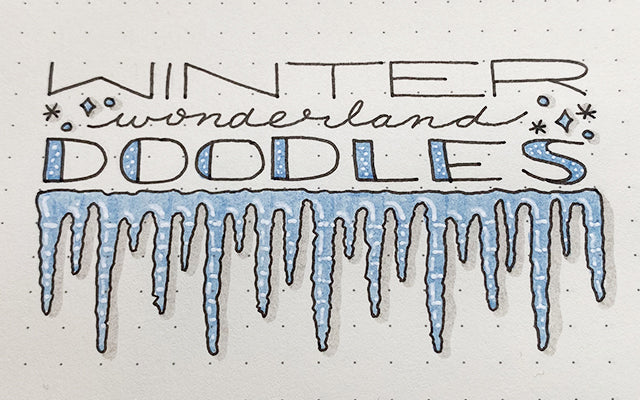 Winter Wonderland Doodles