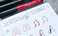 Bullet Journal Lettering Tutorials
