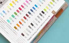 Bullet Journal Swatches with Pitt Artist Pens