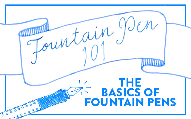 Fountain Pen 101: The Basics of Fountain Pens