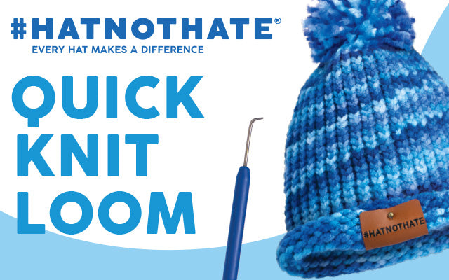 Hat Not Hate Quick Knit Loom Hat