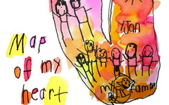 Map of My Heart - Art Lesson Plan for Kids