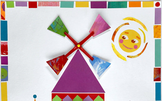 Mary Blair Lesson Plan Windmill