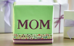 DIY Mother's Day Gift Wrapping
