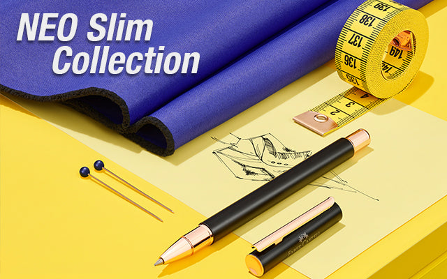 NEO Slim Collection with pens and tape measurer