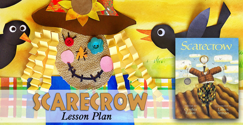 Scarecrow - A Mixed Media Art Lesson Plan