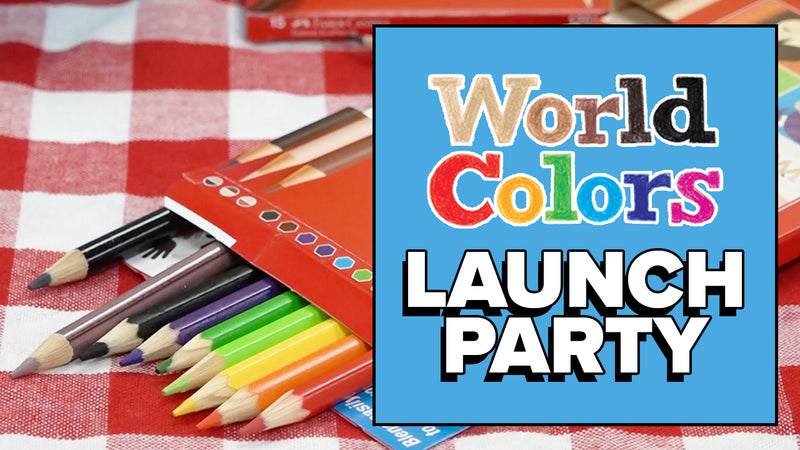 World Colors Colored Pencils Launch Party