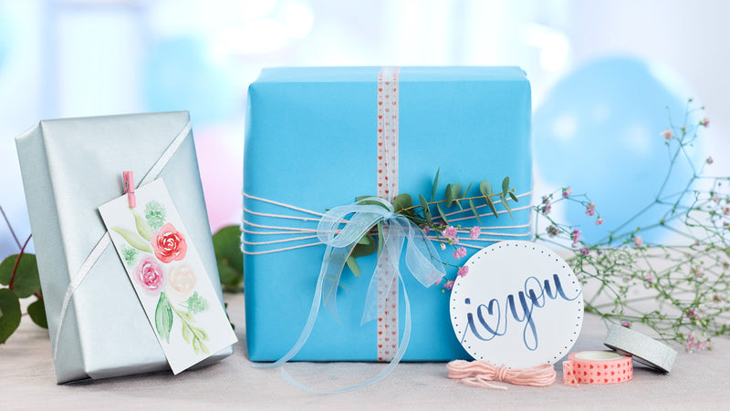 DIY Valentine's Day Gift Tags