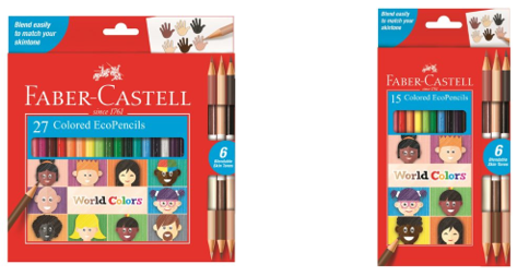 Faber-Castell World Colors colored pencil sets