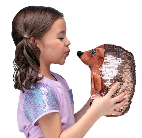 Girl with Sequin Pet