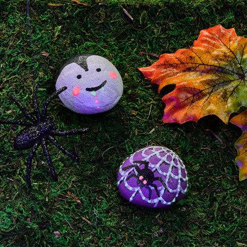 Glow in the Dark Rock Painting Kit for Kids