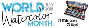 World Watercolor Month Logo