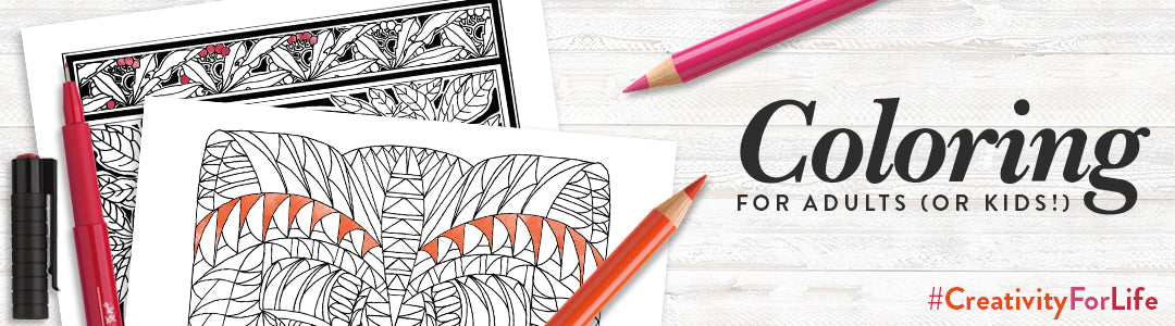 Coloring for Adults (or Kids!)