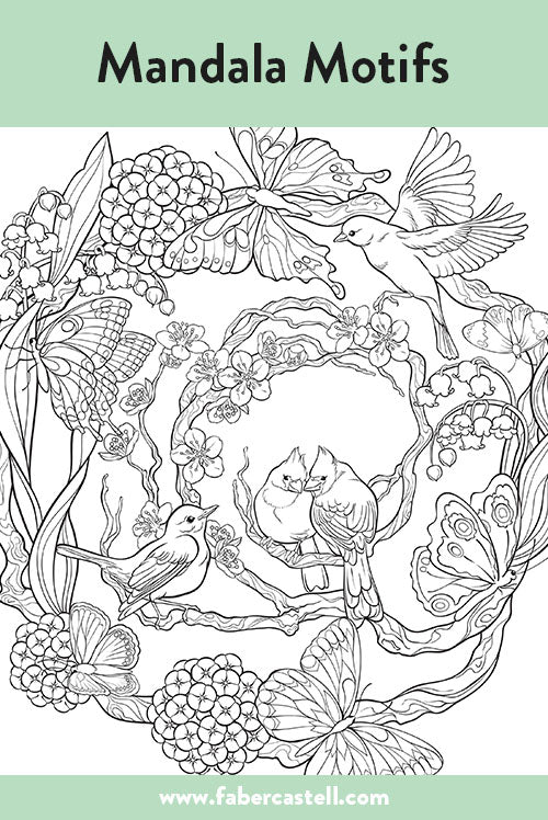 - Coloring Pages For Adults - Free Printables – Faber-Castell USA