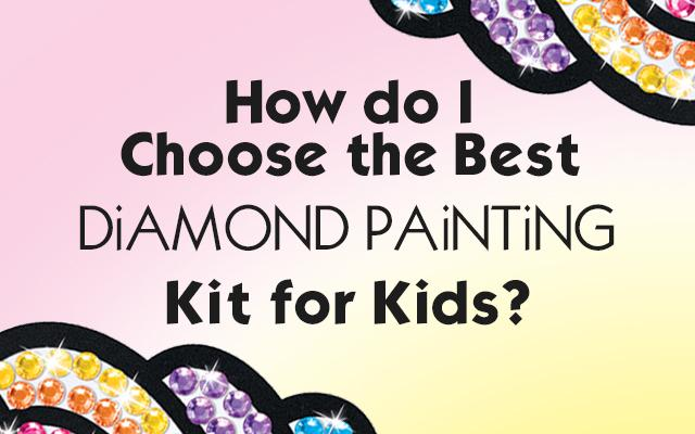 Diamond Painting for Kids - Big Gem – Faber-Castell USA