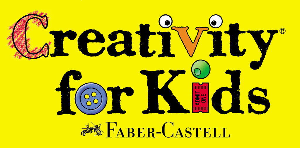 New and Current Yellow Creativity for Kids Logo