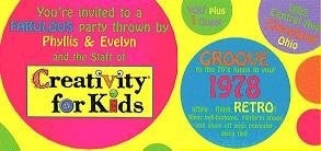 Groovy 70s Party Invitation