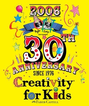 Creativity for Kids 30th Anniversary Poster