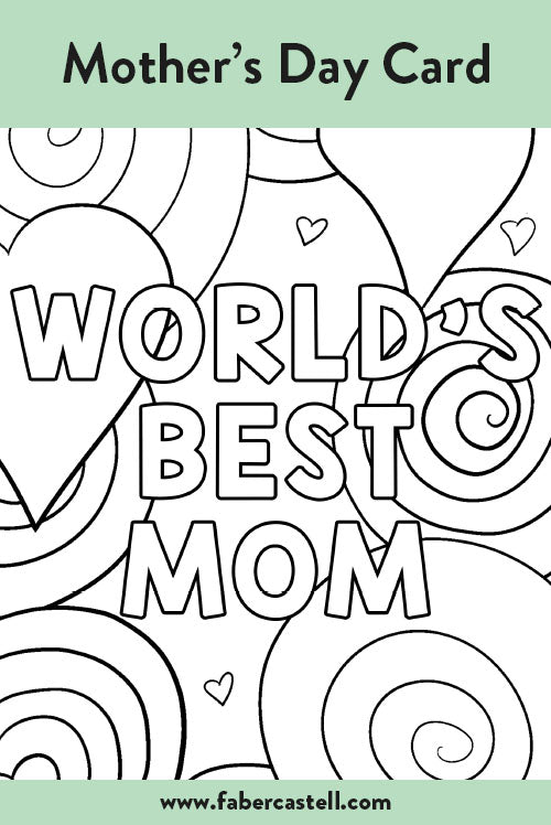 World's Best Mom Mother's Day Card