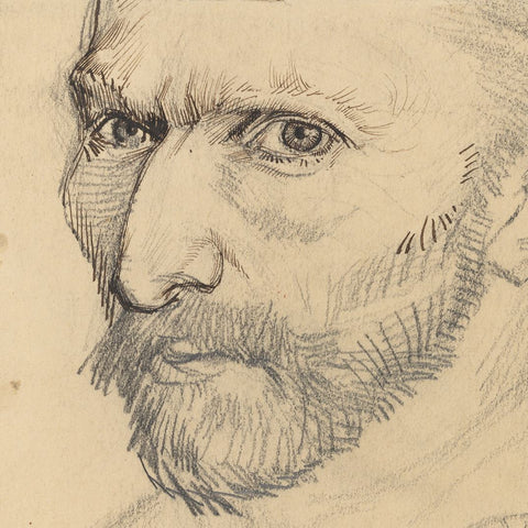 Sketch of Vincent Van Gogh
