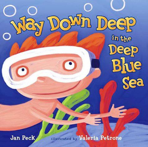 Way Down Deep in the Deep Blue Sea book cover